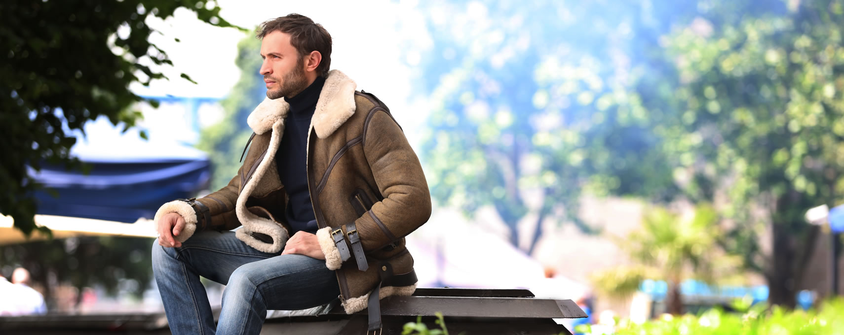 Mens Sheepskin Coats & Jackets